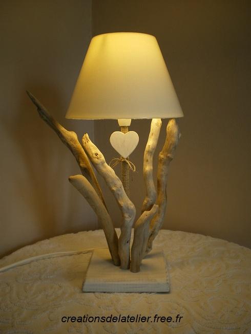 Creation Bois Flotté bois flotte bois flotté lampes bougeoirs appliques miroirs